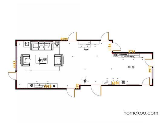 平面布置图中国韵客餐厅G16811