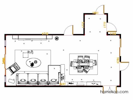 平面布置图贝斯特系列客餐厅G16845