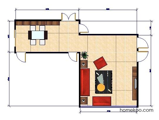 平面布置图德丽卡系列客餐厅G0266