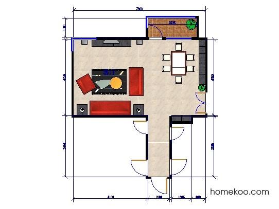 平面布置图柏俪兹系列客餐厅G0248