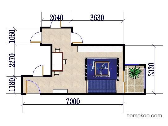 平面布置图贝斯特系列客餐厅G0257