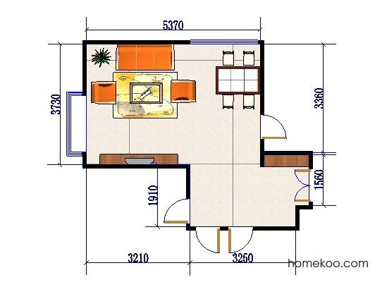 平面布置图德丽卡系列客餐厅G0292