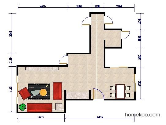 平面布置图乐维斯系列客餐厅G0393