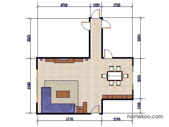 平面布置图乐维斯系列客餐厅G0480