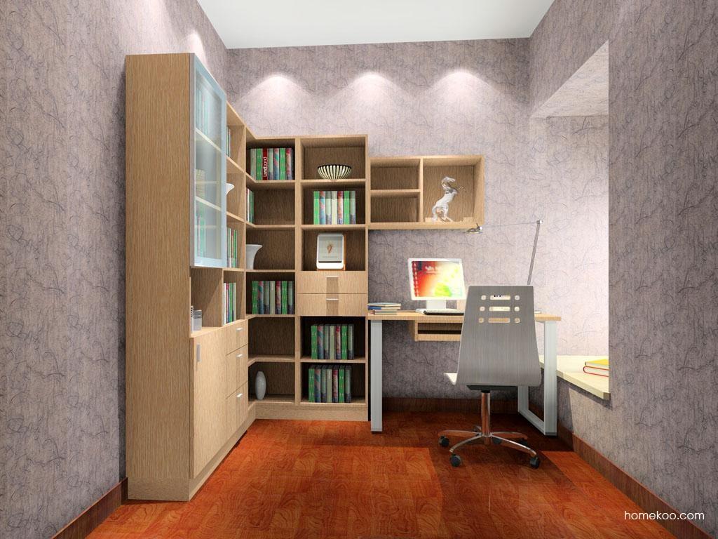 简约主义书房家具C3196