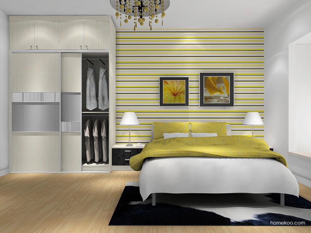 米兰剪影卧房家具A1348
