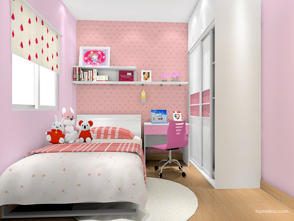 女孩的梦青少年房B3403