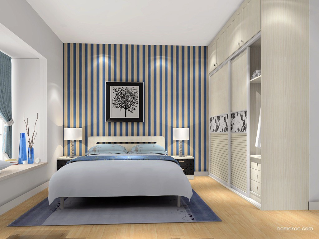 米兰剪影卧房家具A4526