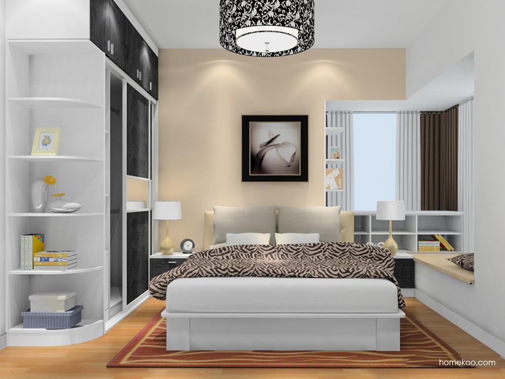 简约主义卧房家具A4487