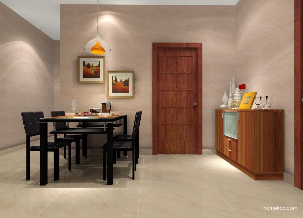 简约主义餐厅家具E0474