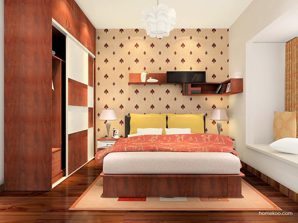 挪威月色卧房家具A4570