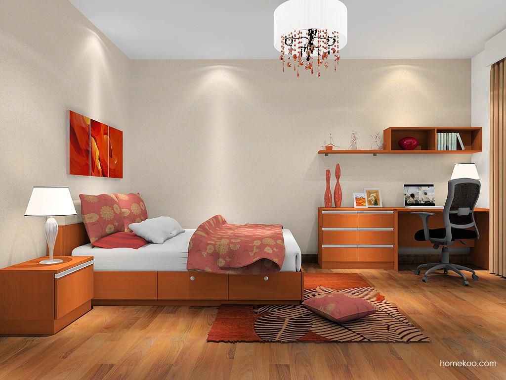 加州梦卧房家具A1395