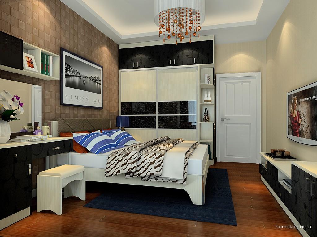 米兰剪影卧房家具A4782