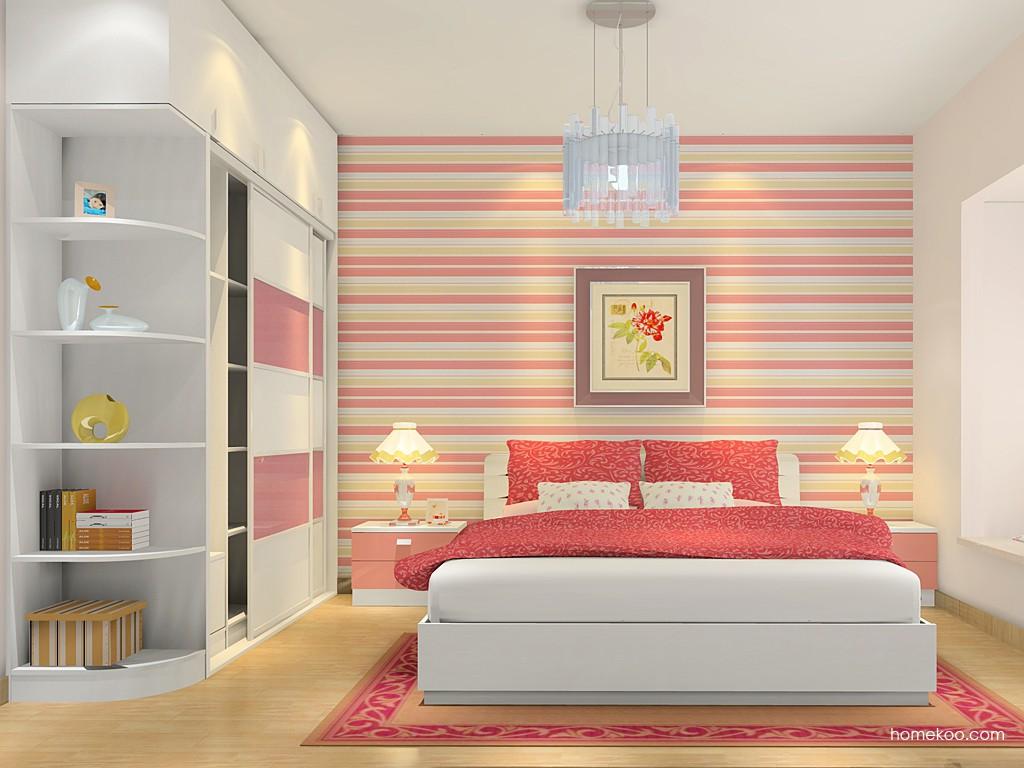 浪漫主义卧房家具A4947