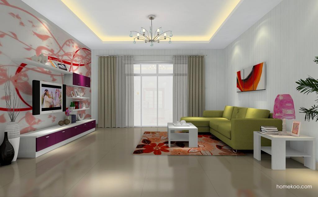 浪漫主义客厅家具D0306