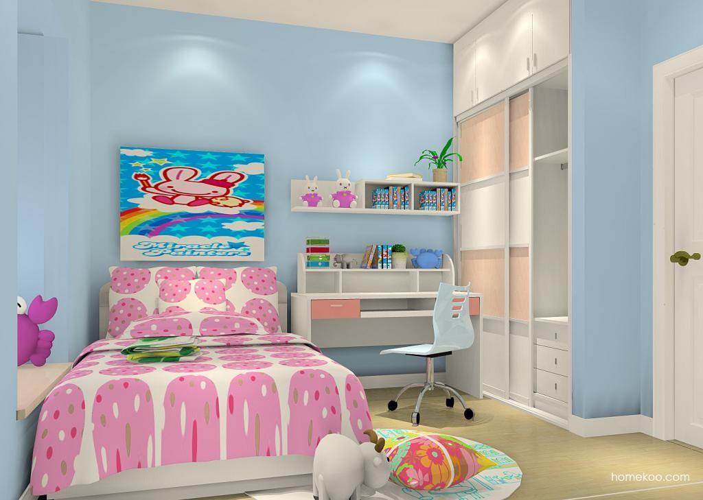 女孩的梦青少年房B3600