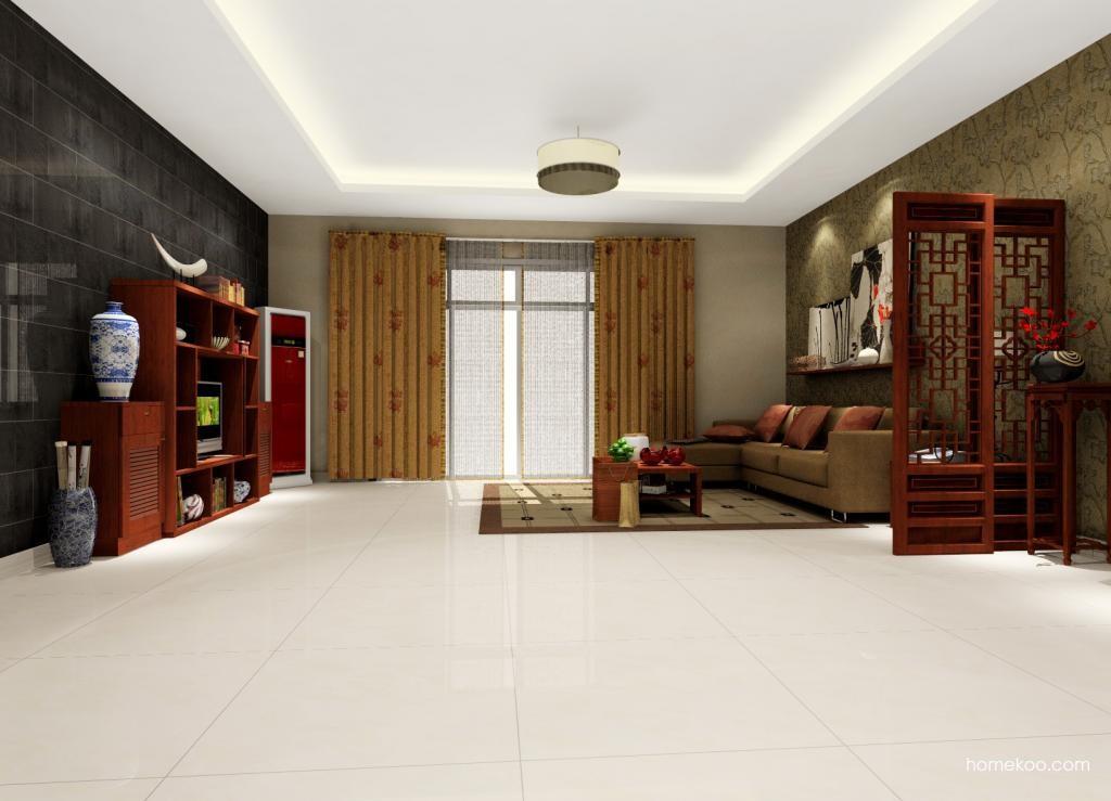 新中式主义客厅家具D0312