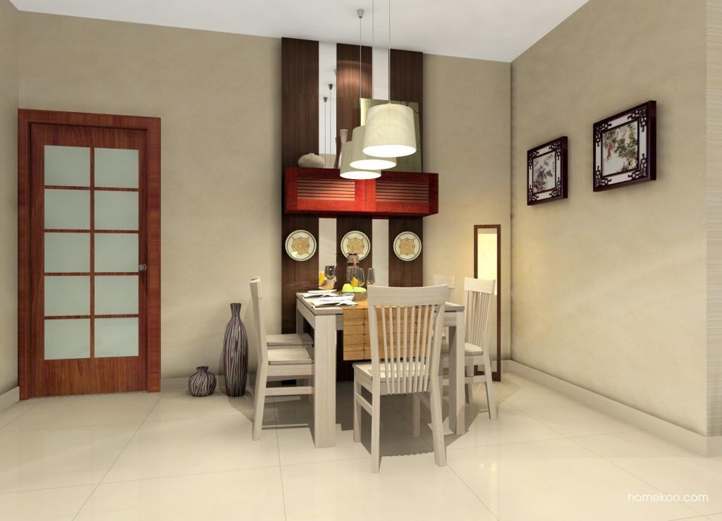 新中式主义餐厅家具E0552