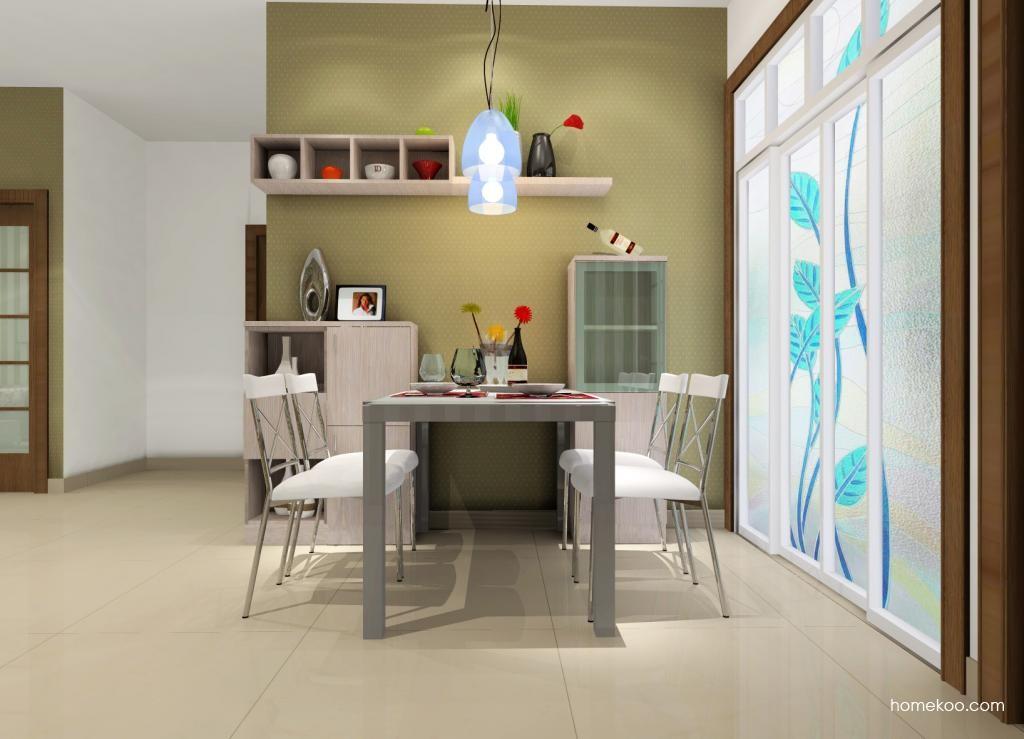 新实用主义餐厅家具E0557