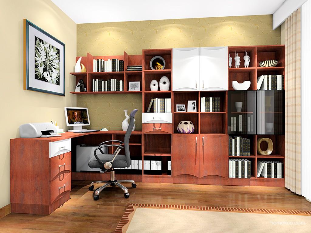 挪威月色书房家具C3305