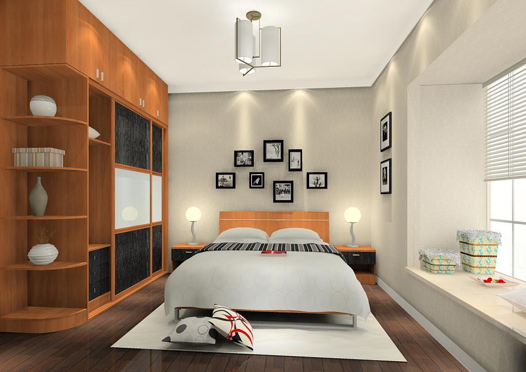 新实用主义卧房家具A5249