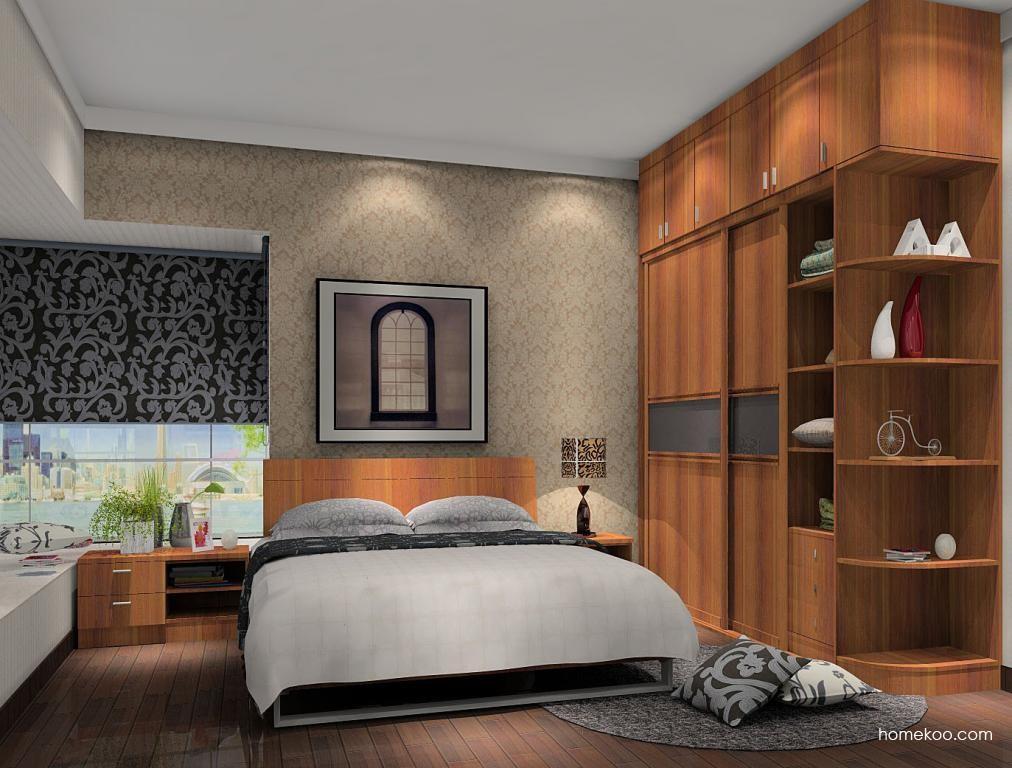 新实用主义卧房家具A5273