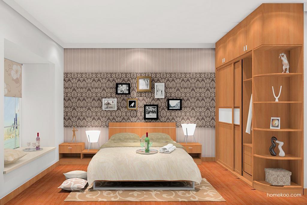 新实用主义卧房家具A5275