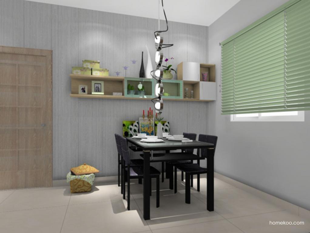 新实用主义餐厅家具E0586