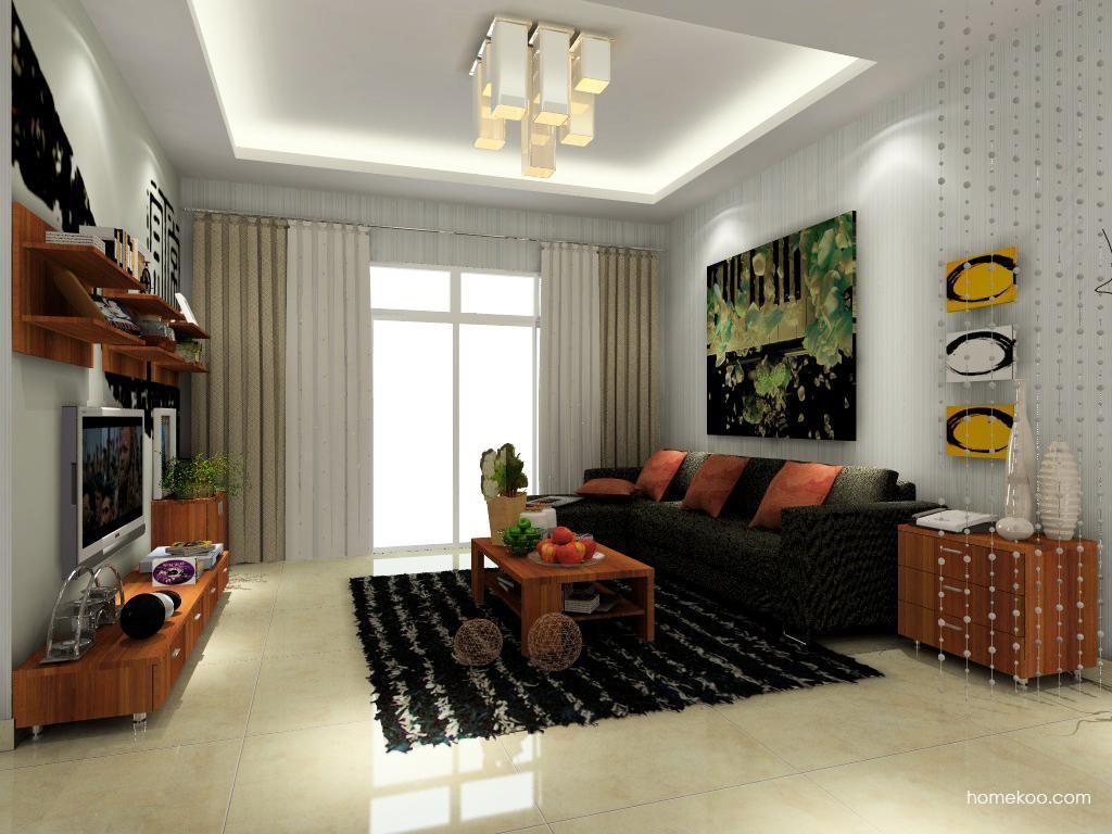 新实用主义客厅家具D0359