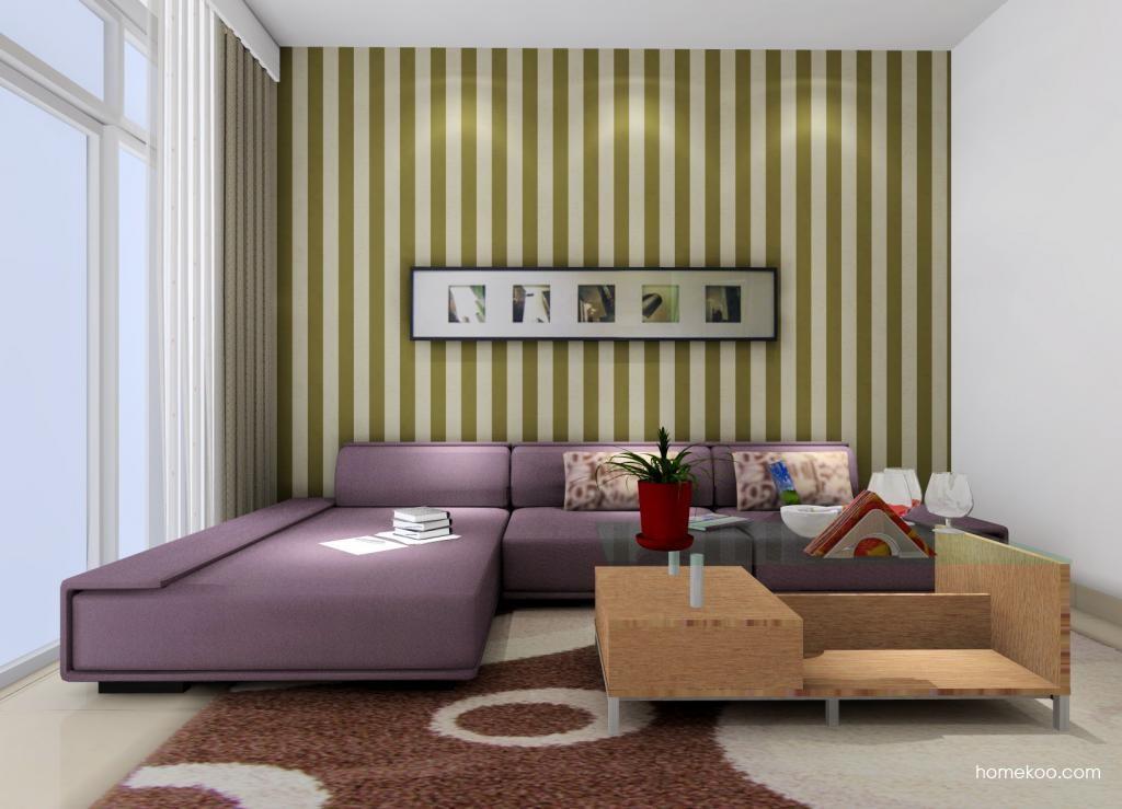 新实用主义客厅家具D0357