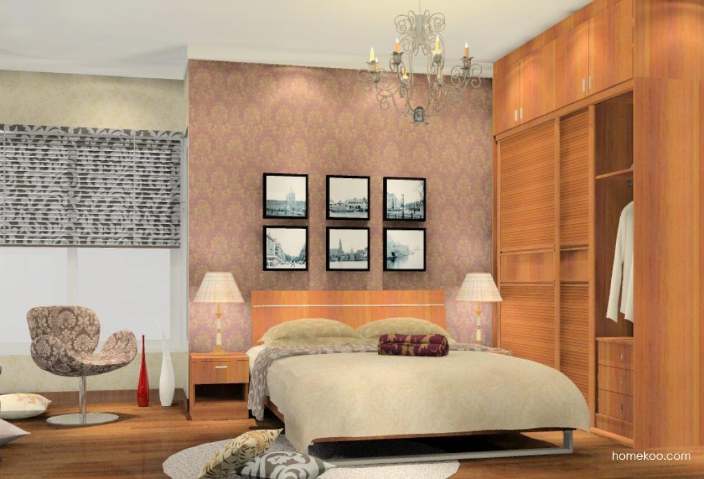 新实用主义卧房家具A5357