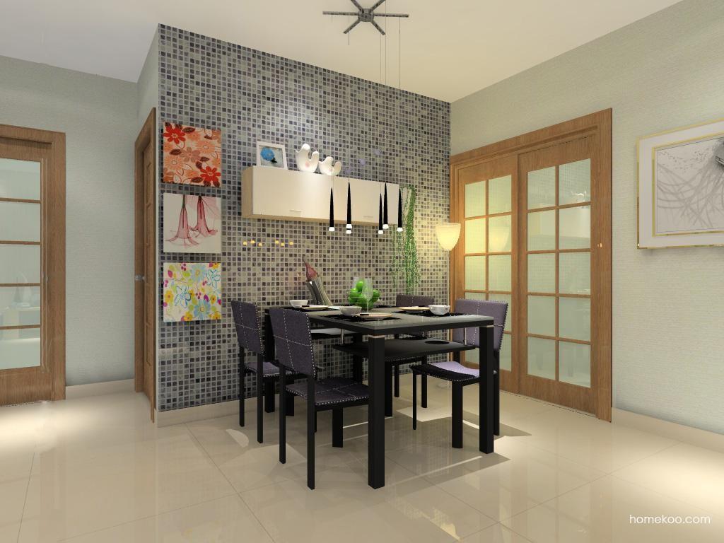 新实用主义餐厅家具E0596