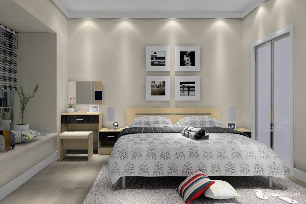 新实用主义卧房家具A5393
