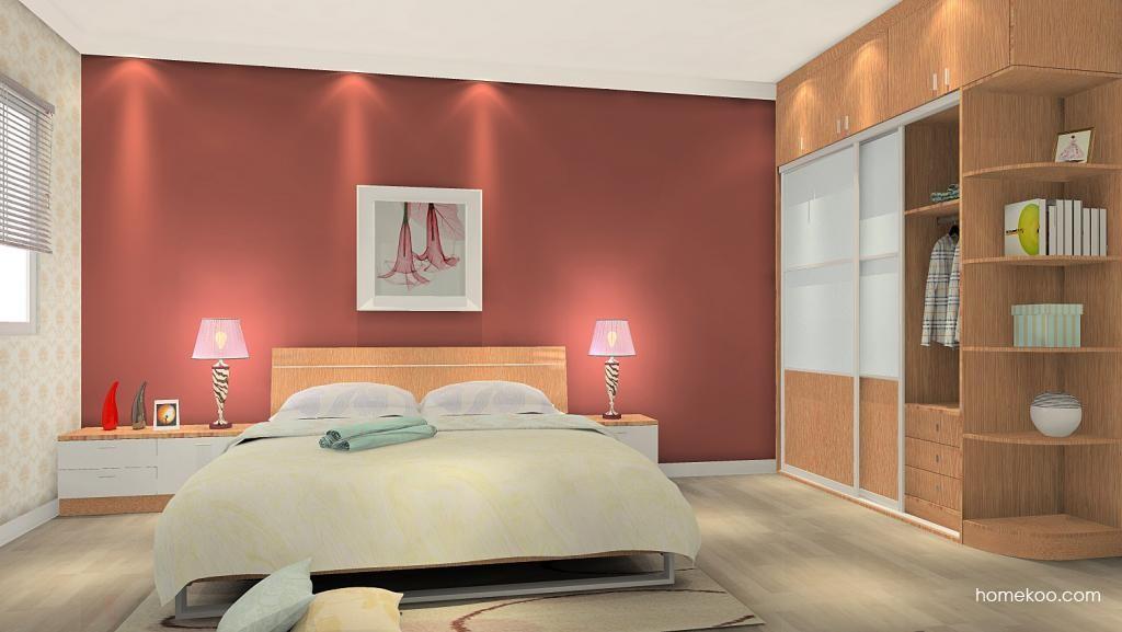 新实用主义卧房家具A5412