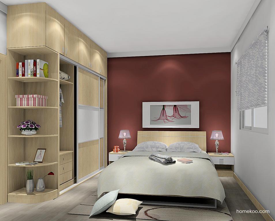 新实用主义卧房家具A5482