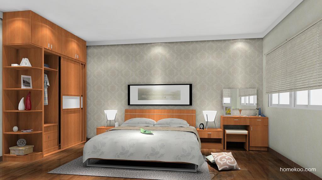 新实用主义卧房家具A5490