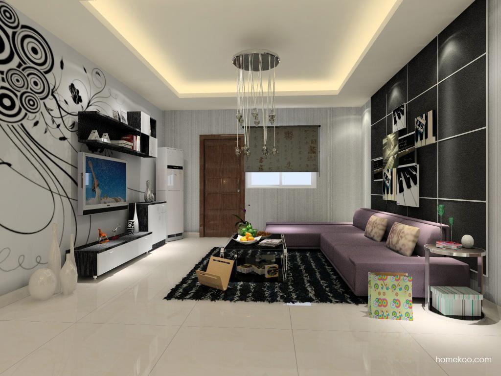 简约主义客厅家具D0389