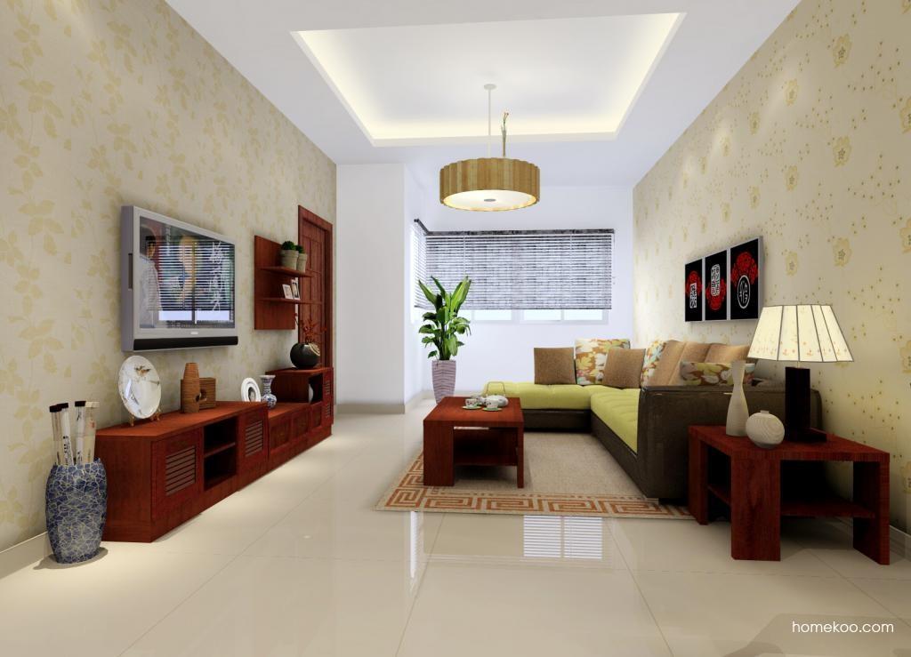 新中式主义客厅家具D0384