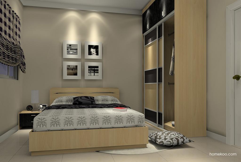 新实用主义卧房家具A5549