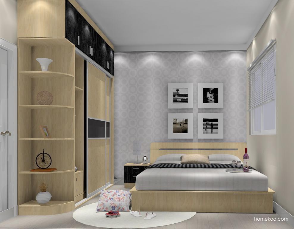 新实用主义卧房家具A5564