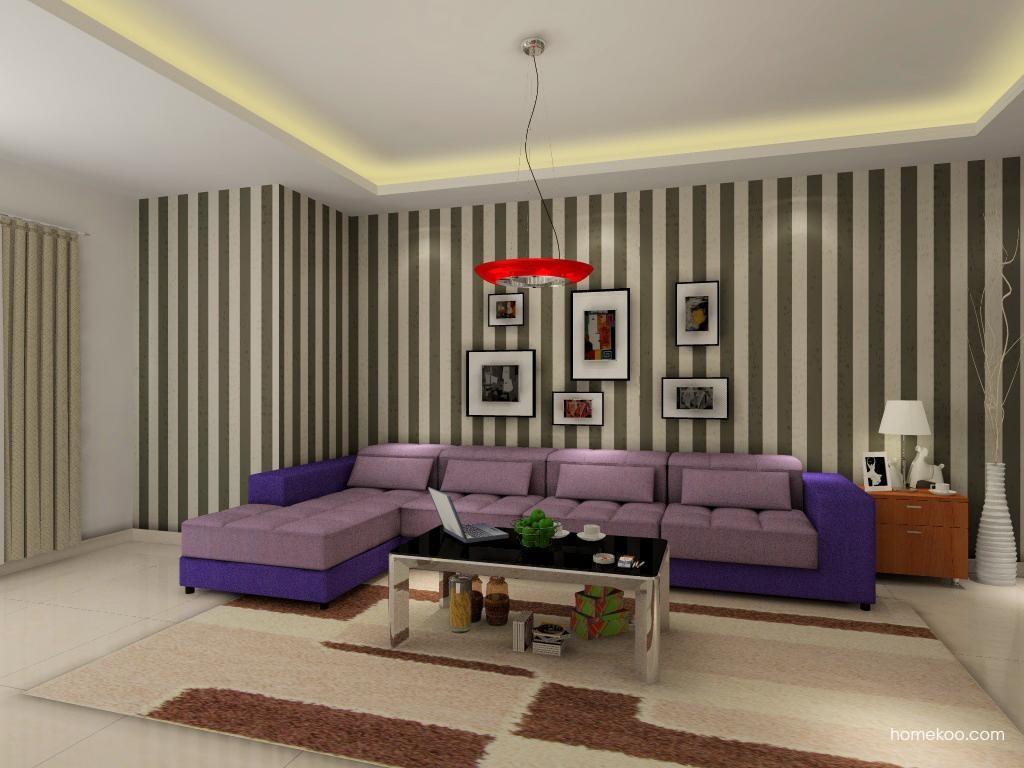 新实用主义客厅家具D0415