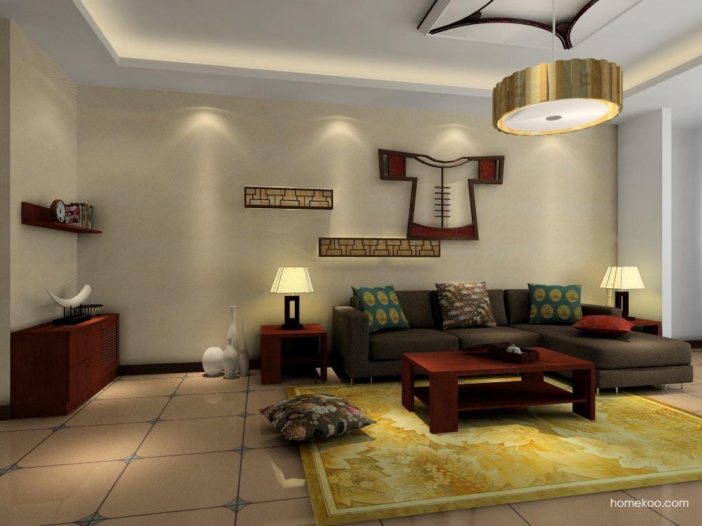 新中式主义客厅家具D0432