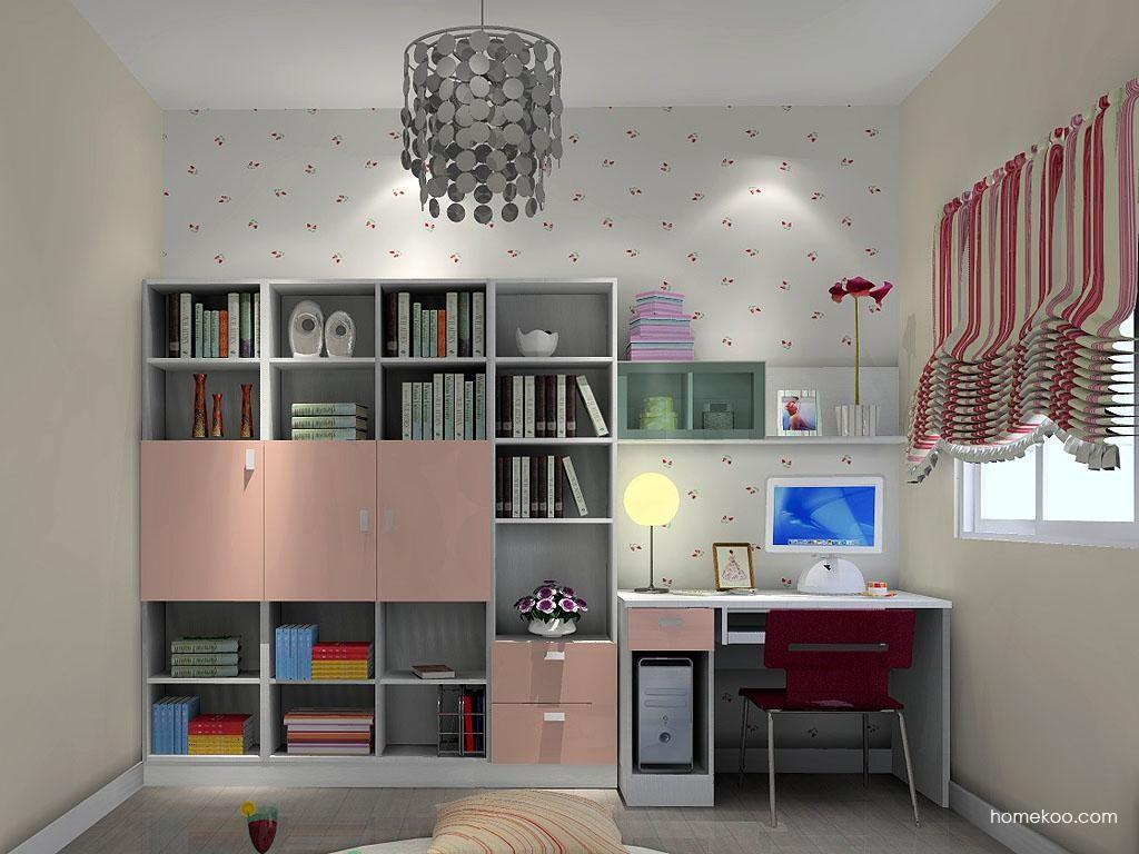 浪漫主义书房家具C3412