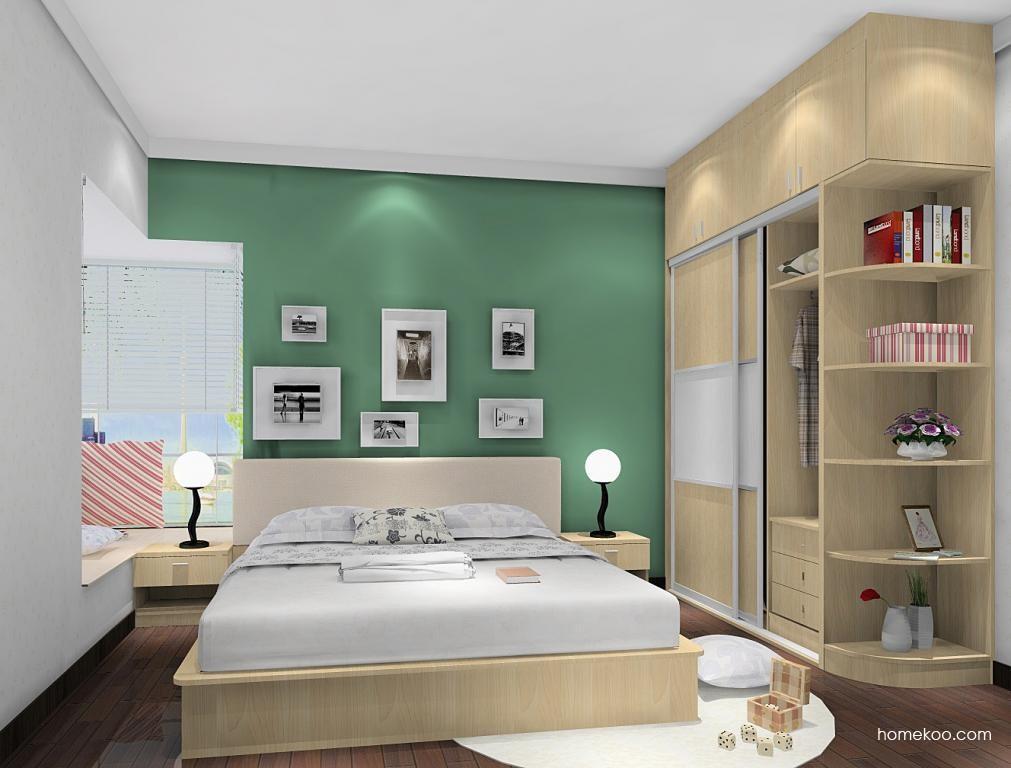 新实用主义卧房家具A5658