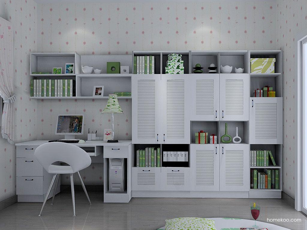 田园书房家具C3429