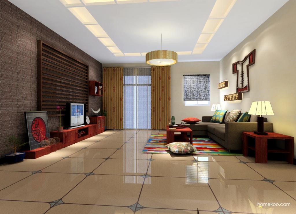 新中式主义客厅家具D0447