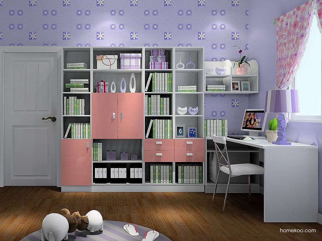 浪漫主义书房家具C3442