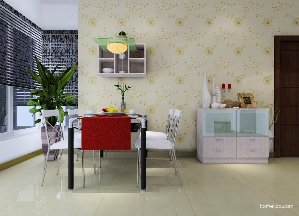 新实用主义餐厅家具E0694