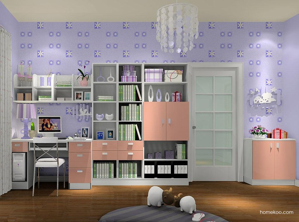 浪漫主义书房家具C3457