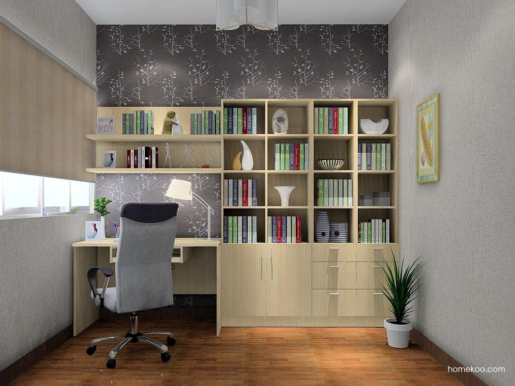 新实用主义书房家具C3454